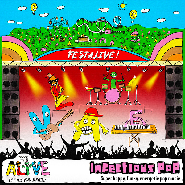 ALIVE004 Infectious Pop