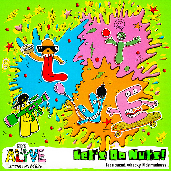 ALIVE008 Let's Go Nuts