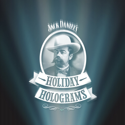 Jack Daniel's Holiday Holograms